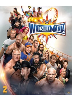 WWE - Wrestlemania 33 (2x Blu-Ray Steelbook Edition)