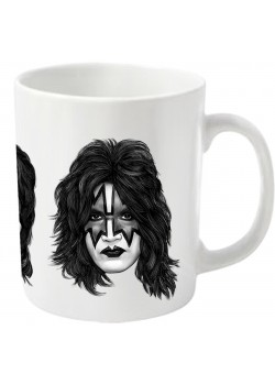 Kiss - Faces (Coffee Mug)