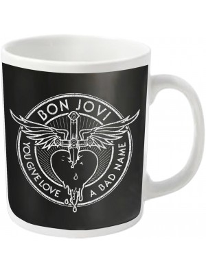 Bon Jovi - You Give Love A Bad Name (Coffee Mug)