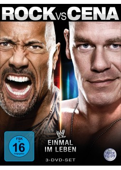 WWE - Rock vs. Cena - Once In A Lifetime (3x DVD)