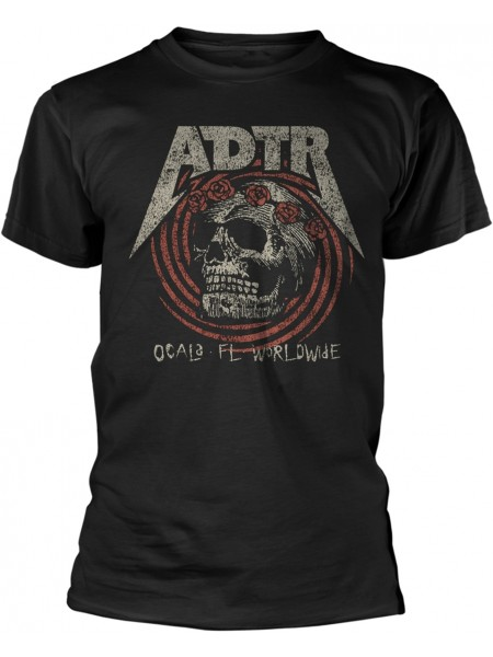 A Day To Remember - Flower Skull (T-Shirt)