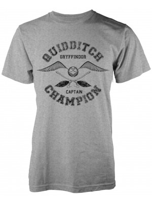 Harry Potter - Quidditch Champion Gryffindor Captain (T-Shirt)