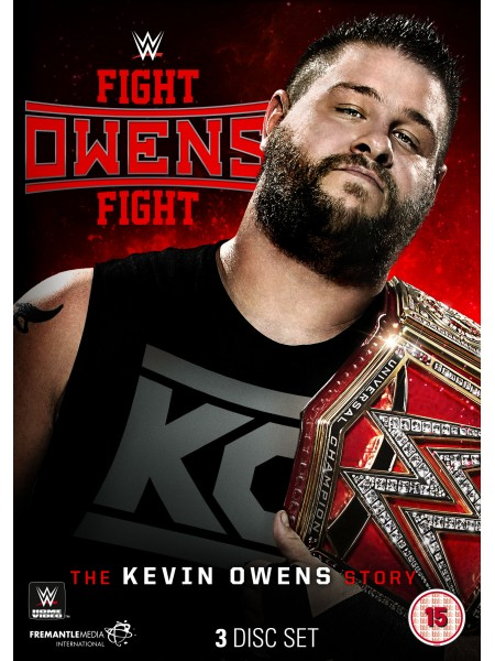 WWE - Kevin Owens - Fight Owens Fight The Kevin Owens Story (3x DVD)