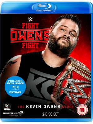 WWE - Kevin Owens - Fight Owens Fight The Kevin Owens Story (2x Blu-Ray)