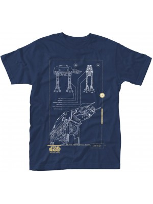 Star Wars - Rogue One - Blue Print AT-ACT (T-Shirt)