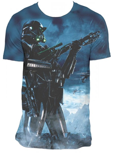 Star Wars - Rogue One - Death Trooper Pose (All Over Print T-Shirt) 2b0b4c5646576