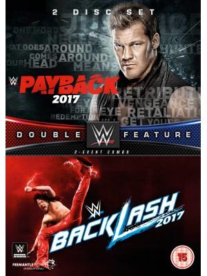 WWE - Payback 2017 & Backlash 2017 (2x DVD)