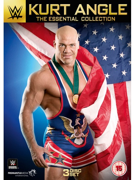 WWE - Kurt Angle - The Essential Collection (3x DVD)