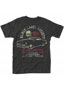Black Label Society - Hellriding Hot Rod (T-Shirt)