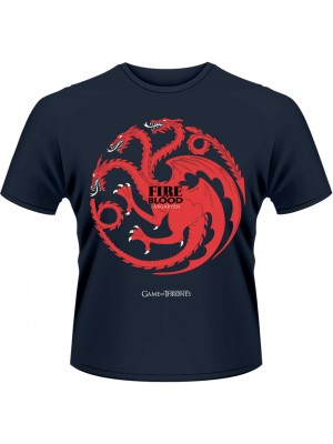 Game Of Thrones - Fire And Blood (T-Shirt)