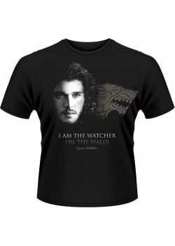 Game Of Thrones - I Am The Watcher On The Walls (T-Shirt)