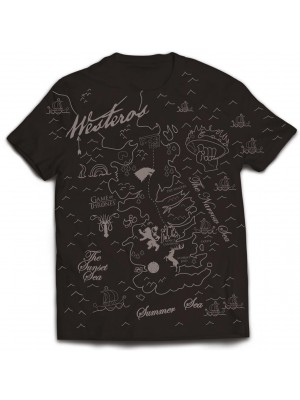 Game Of Thrones - Westeros Map (T-Shirt)