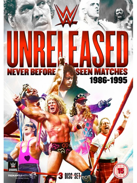 WWE - Unreleased 1986-1995 Never Before Seen Matches (3x DVD)