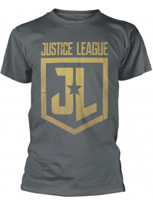 DC Comics - Justice League - Classic Shield Logo (T-Shirt)