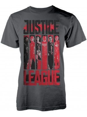 DC Comics - Justice League - Striped Characters (T-Shirt)