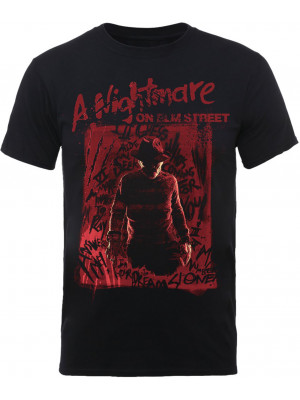 A Nightmare On Elm Street - Freddy Krueger Silhouette (T-Shirt)