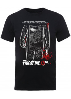 Friday The 13th - Bloody Film Poster (T-Shirt)