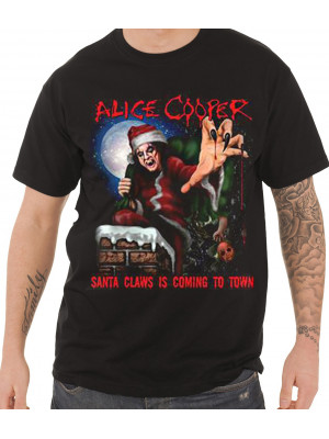 Alice Cooper - Santa Claws (T-Shirt)