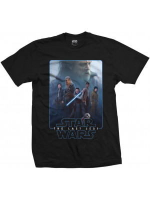 Star Wars - The Last Jedi - The Force Characters Composite (T-Shirt)