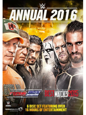 WWE - Annual 2016 (6x DVD)