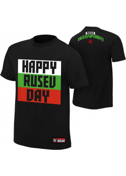 WWE - Rusev - Happy Rusev Day (Authentic T-Shirt)