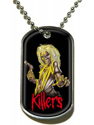 Iron Maiden - Killers (Dog Tag Pendant)