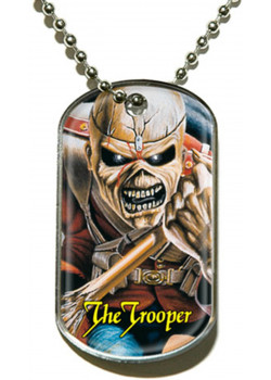 Iron Maiden - The Trooper (Dog Tag Pendant)