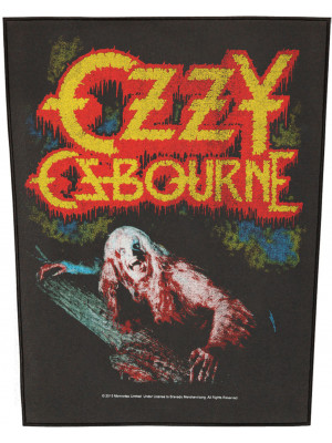 Ozzy Osbourne - Bark At The Moon (Back Patch Rückenaufnäher)