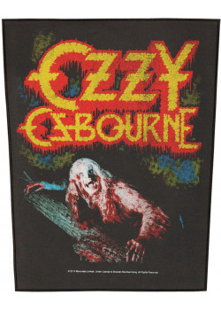 Ozzy Osbourne - Bark At The Moon (Back Patch)