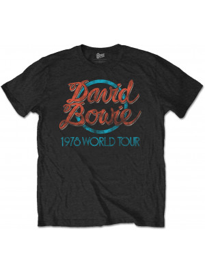 David Bowie - 1978 World Tour (T-Shirt)