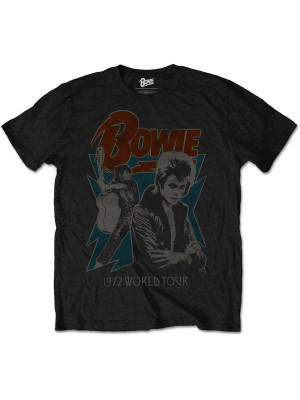 David Bowie - 1972 World Tour (T-Shirt)
