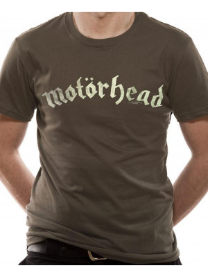 Motörhead - Distressed Classic Band Logo (T-Shirt)
