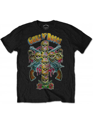 Guns N Roses - Skull Cross 80s (T-Shirt)