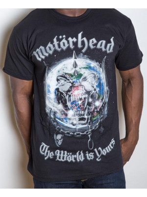 Motörhead - The Wörld Is Yours Album Cover (T-Shirt)