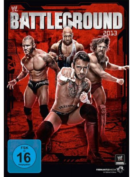 WWE - Battleground 2013 (DVD)