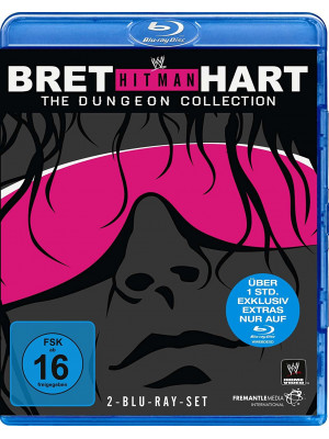 WWE - Bret The Hitman Hart - The Dungeon Collection (2x Blu-Ray)