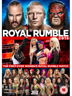 WWE - Royal Rumble 2018 (2x DVD)