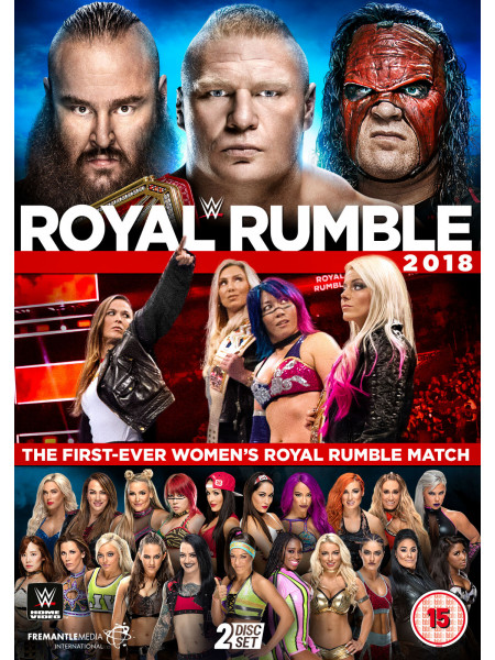 WWE - Royal Rumble 2018 (DVD)