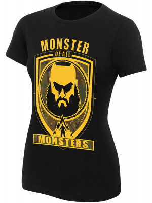 WWE - Braun Strowman - Monster Of All Monsters (Authentic Womens Girlie T-Shirt)