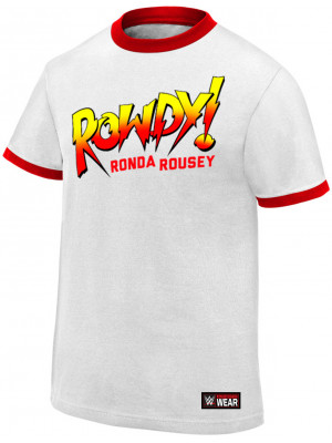 WWE - Ronda Rousey - Rowdy Ronda Rousey (Authentic T-Shirt)