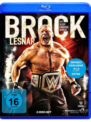 WWE - Brock Lesnar - Eat Sleep Conquer Repeat (2x Blu-Ray)