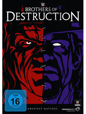 WWE - Kane & The Undertaker - The Brothers Of Destruction Greatest Matches (DVD)