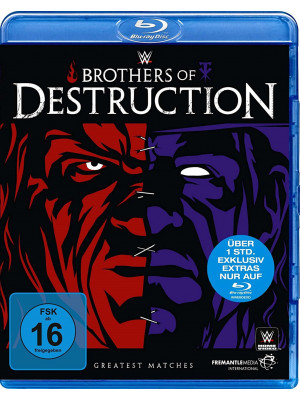 WWE - Kane & The Undertaker - The Brothers Of Destruction Greatest Matches (Blu-Ray)