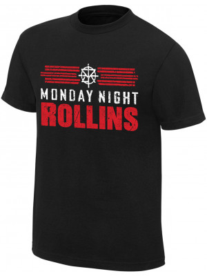 WWE - Seth Rollins - Monday Night Rollins (Authentic T-Shirt)