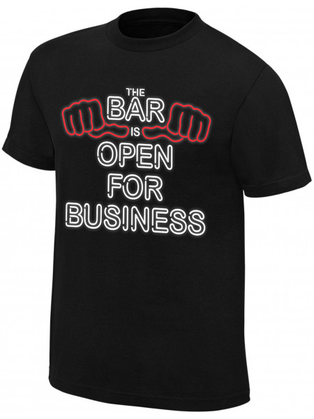 WWE - Sheamus & Cesaro - The Bar Is Open For Business (Authentic T-Shirt)
