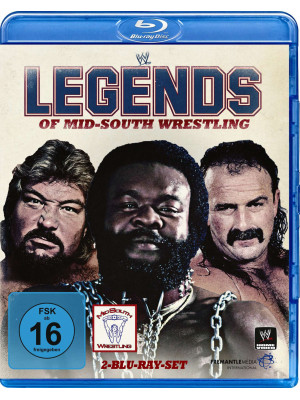 WWE - Legends Of Mid-South Wrestling (2x Blu-Ray)