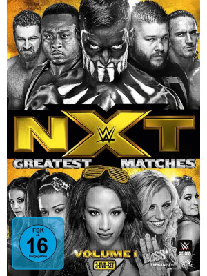 WWE - NXT - The Greatest Matches Volume 1 (3x DVD)