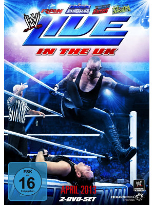 WWE - Live In The UK April 2013 (2x DVD)