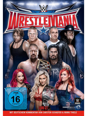 WWE - Wrestlemania 32 (3x DVD)