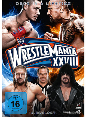 WWE - Wrestlemania 28 (3x DVD)